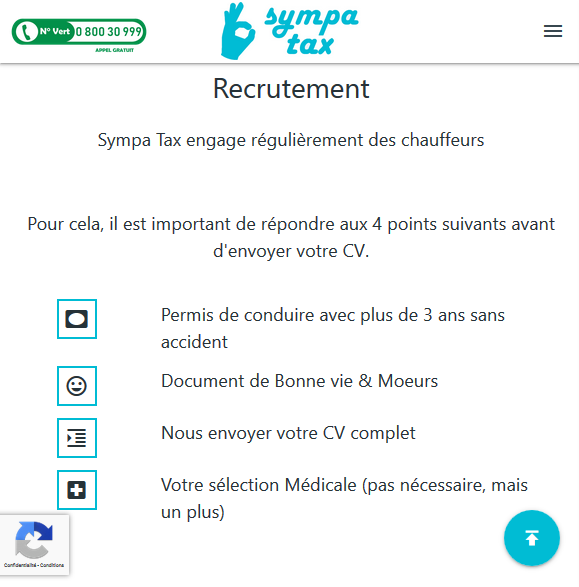 Sympa-Tax recruiting